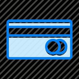 debit, mastercard, payment, visa icon