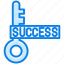 key, success icon