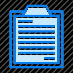 check, clipboard, list, questionnaire, survey icon