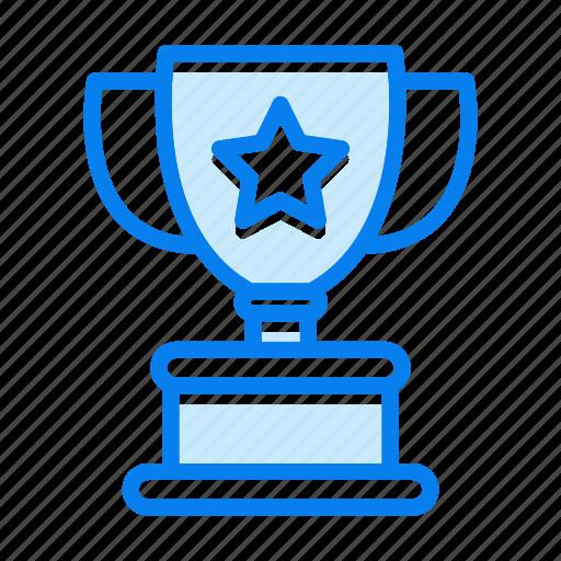 achievement, reward, trophy, winner, winning icon