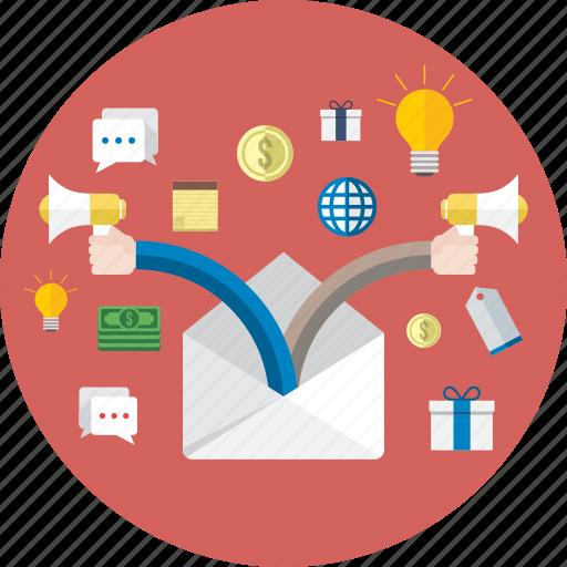 business, finance, flat, icon, marketing, money, shopping icon