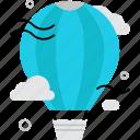 aerostat, air, balloon, exploration, flight, travel, view