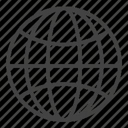 communication, earth, global, international, worldwide icon