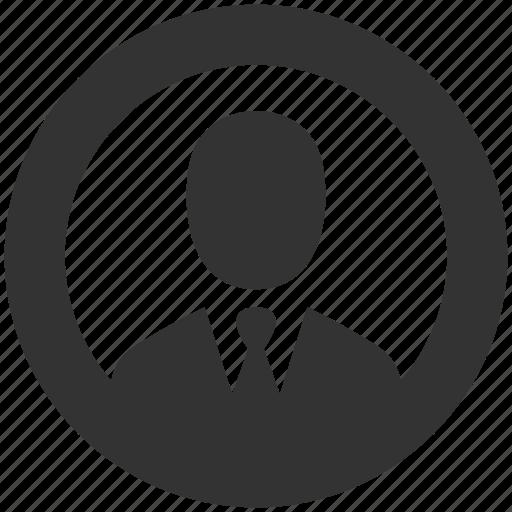 account, avatar, businessman, contact, person, profile, user icon