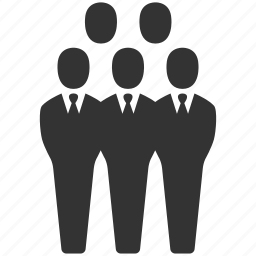 business, business people, businessmen, community, people, team, users icon