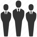business, business people, businessmen, group, people, users icon