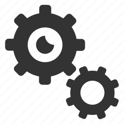 cogs, configuration, gears, options, preferences, settings, support icon