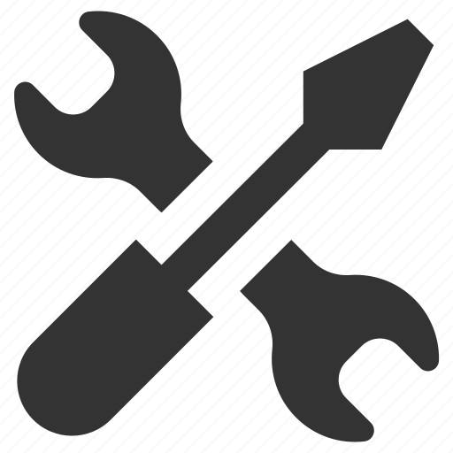 fix, mechanic, repair, screwdriver, support, tools, wrench icon