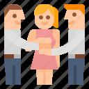 business, partners, partnership, team icon