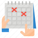 management, planning, process, schedule icon