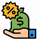 business, commission, money, sell icon