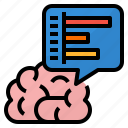 ability, brain, cognitive, skills icon
