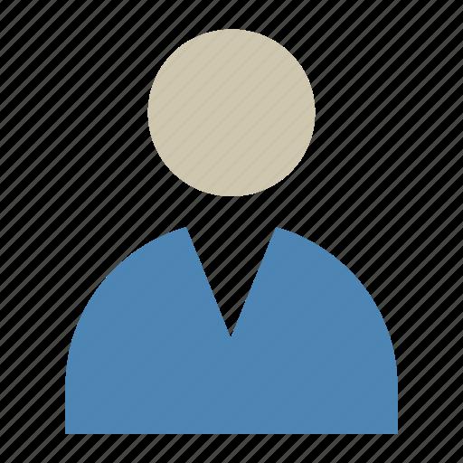 account, male, man, profile, user icon icon
