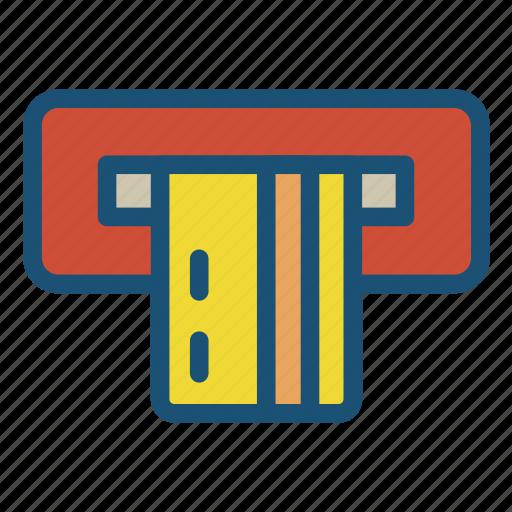 atm, atm card, atm machine, debit card icon icon