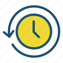 business, hour, part time, pay, rate, time icon icon