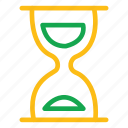 alarm, bell, clock, egg-glass, glasswatch, hourglass, loading icon