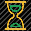alarm, bell, clock, egg-glass, glasswatch, hourglass, loading