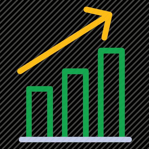 bar graph, chart, graph icon icon