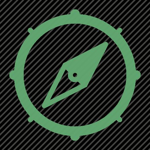 compass, explore, navigation icon