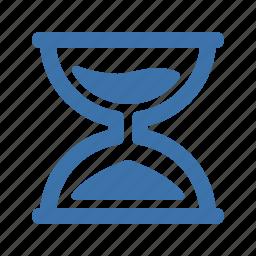 hourglass, sandclock, sandglass icon