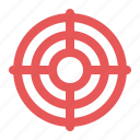 bullseye, business goal, darts, target icon