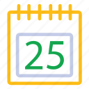 agenda, business, calender, date icon icon
