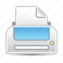 office supplies, print, printer icon