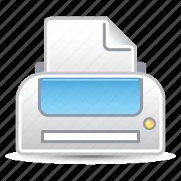 office supplies, print, printer icon