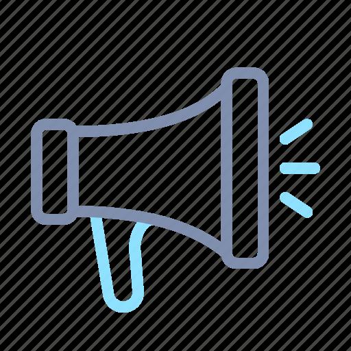 business, communication, marketing, megaphone, office, promotion icon