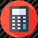 analytics, calculator icon