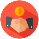 business, deal, success icon