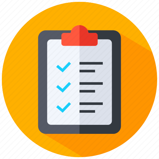 Business, list, report icon - Download on Iconfinder