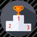 podium, winner icon