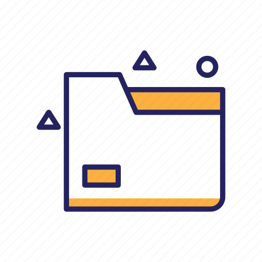 archive, document, file folder, folder, office icon