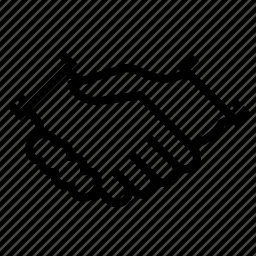 Agreement, hand, handshake, partnership, business icon - Download on Iconfinder