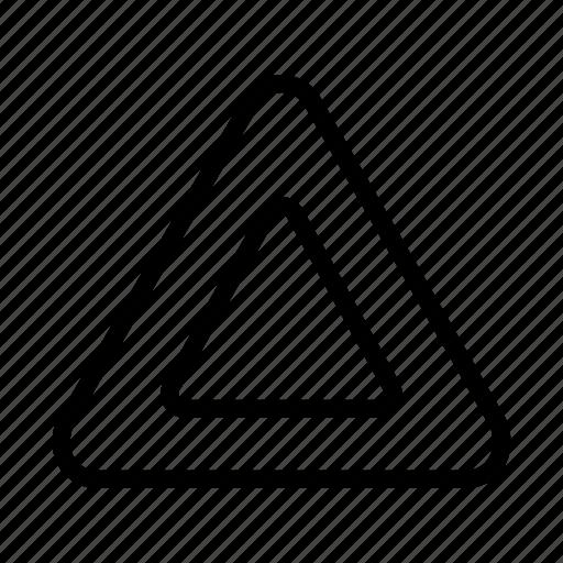 danger, hazard, problem, sign, triangle, warning icon