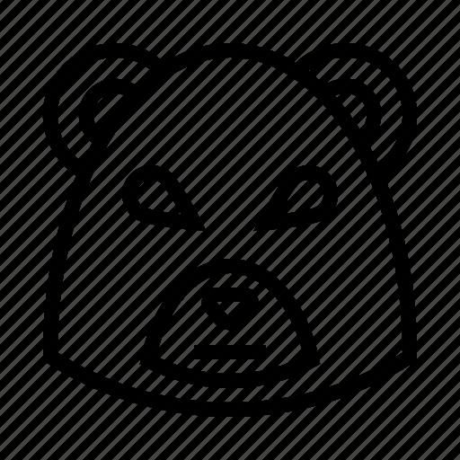 bear, business, finance, market, stock, trade icon