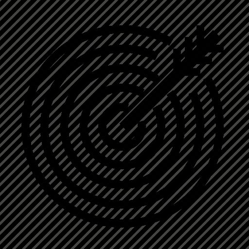 Arrow, target icon - Download on Iconfinder on Iconfinder