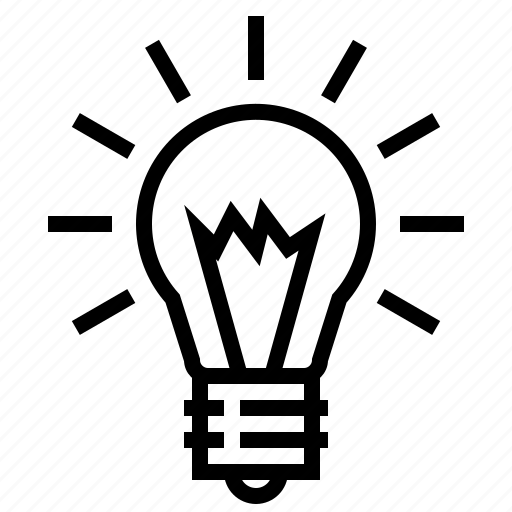 bulb, electric, idea, lamp, light, lightbulb icon