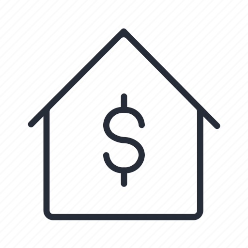 Dollar, home, home business, house icon - Download on Iconfinder