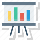 analytics, market data, research, screen, seo, statistics icon icon