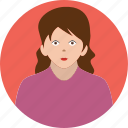 girl, people, user, business, avatar icon