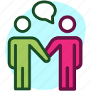 agreement, business, commitment, deal, guarantee, handshake, pact icon icon