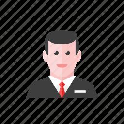 1, businessman icon