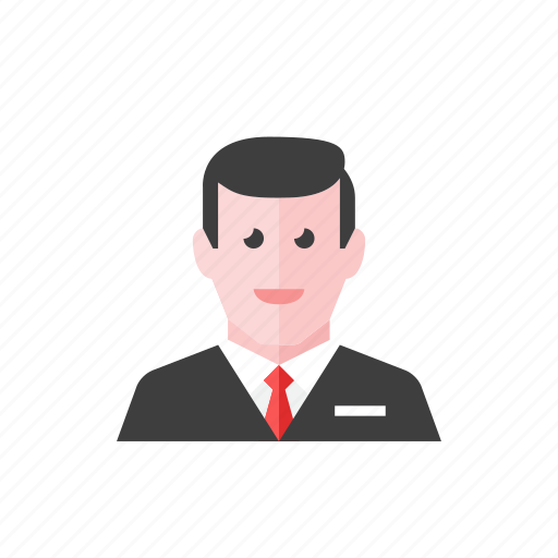 1, businessman icon