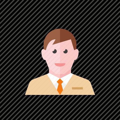2, businessman icon