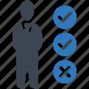 survey, audit, checklist icon