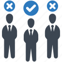 job, selection, employee icon