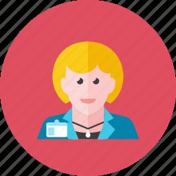 2, businesswoman icon