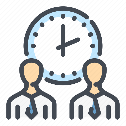 Clock, management, person, staff, time, watch, work icon - Download on Iconfinder
